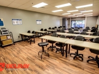 New larger classroom