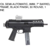 APC9 Semi Automatic handgun