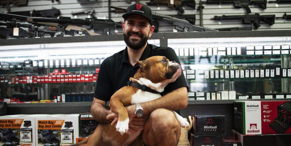 Delray Shooting Center Dog