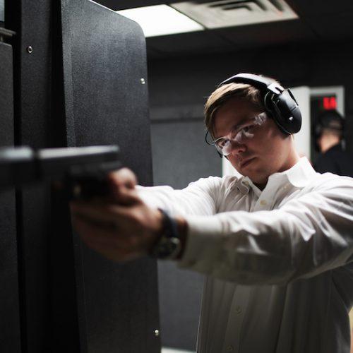 Delray Shooting Center Head Gear