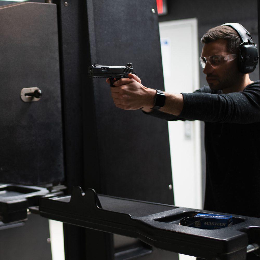 Delray Shooting Center Pistol Range